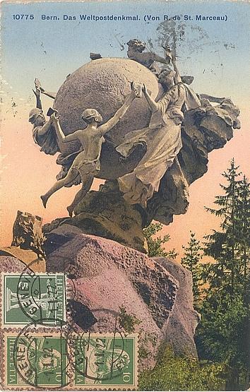 Weltpost-Denkmal in Bern